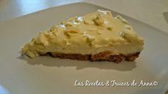 Tarta de Queso & Chocolate Blanco ¡¡Muy Muy Fácil!! - Las Recetas y Trucos de Anna