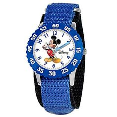 Time Teacher, Kid's Watch Mickey Mouse Blue - jcpenney. Valley West Mall