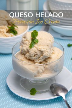 Queso Helado is easy to make and a perfect way to end any meal. Milk, coconut, cinnamon, and vanilla in a sugary, ice-cold slice. Delicious! #Peruvianrecipes #QuesoHeladoRecipe #CheeseIcecream #peruvianDesserts #DessertRecipes Peruvian Desserts, Peruvian Recipes, Easy Desserts, Dessert Recipes, Cheese Tasting, Best Ice Cream, Frozen Fruit, Best Dishes, World Recipes