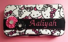 Hello Kitty Diaper Wipes Case by LoveKistKreations on Etsy