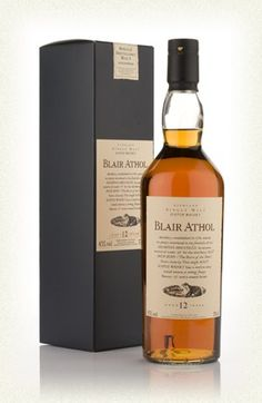Blair Athol 12 Year Old - one of my personal favorites -  Flora and Fauna Series.
