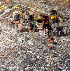 Jackson Pollock's Studio
