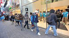 Pocos compradores llegan a las tiendas de Apple para adquirir la iPad mini