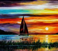 oil paintings of sailboats - Bing Images