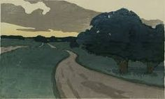 Arthur Wesley Dow (American, 1857–1922), The Long Road--Argilla Road, Ipswich, 1898, Color woodcut on paper, 10.8 x 17.9 cm, Alfred T. White Fund, ...
