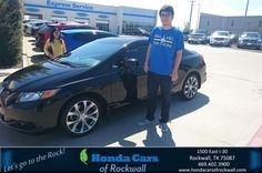 #HappyBirthday to Thomas from Art Sanders at Honda Cars of Rockwall!  https://deliverymaxx.com/DealerReviews.aspx?DealerCode=VSDF  #HappyBirthday #HondaCarsofRockwall