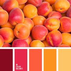 бледно-желтый, бордовый, коричневый, красный, оранжевый, оттенки желтого, оттенки осени, палитра для осени, подбор цвета, подбор цвета для осени, шафрановый, яркий красный.