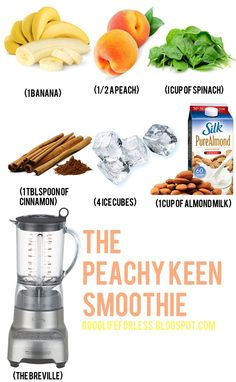 jillgg's good life (for less) | a style blog: New Year New You: smoothie! The Peachy Keen!