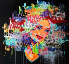"""dolly"" See more artwork by Justin Kane by subscribing on Ziibra at https://www.ziibra.com/justin-kane-elder/"