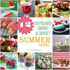 12 Refreshing Summer Recipes