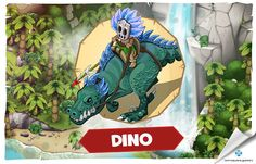 Nowa jednostka – Dino http://wp.me/p4ucIN-3L #junglewars