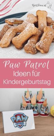 Paw Patrol Children& Birthday: Ideas for the perfect Fellfreund party! - Paw Patrol Children& Birthday: Ideas for the perfect Fellfreund party! Paw Patrol Party, Paw Patrol Birthday, Kids Party Themes, Birthday Party Themes, Birthday Ideas, Themed Parties, Watermelon Birthday Parties, Birthday Tags, Diy Gifts For Kids