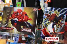 Material escolar do Homem-Aranha. O material que todo herói deseja  #spiderman #homemaranha #nagrafipel #voltaasaulas #materialescolar #marvel #instintoaranha