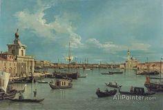 Giovanni Antonio Canal (called Canaletto),Venice:  The Bacino Di San Marco From The Canale Della Giudecca oil painting reproductions for sale
