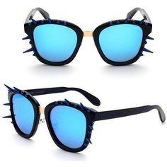 b3a96a7dce42 Gothic Steampunk Crystal Cat Eye Sunglasses - Skullflow  https   www.skullflow.