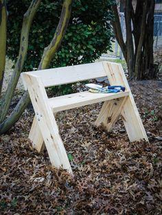 How to Make an Easy Garden Bench   HGTV
