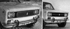 OG | VAZ-2101 / ВАЗ-2101 / Lada 2101 Facelift proposal | Prototype dated 1976