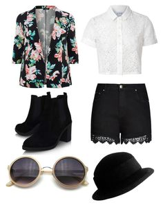 """""""Untitled #53"""" by bandsdestroyamylife on Polyvore featuring Glamorous, City Chic, Topshop and Yves Saint Laurent"""