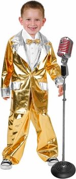 childs gold lame elvis costume #ChildrensCostume #HalloweenCostume #Halloween2014