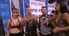 New trendy GIF/ Giphy. mtv vmas red carpet video music awards vmas 2016 dnce. Let like/ repin/ follow @cutephonecases