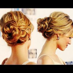 an elegant hairstyle REALLY LIKE THIS! like the  softness (not messy)
