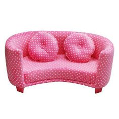 Kid Sofa Couch Chair Child Furniture Girl Bedroom Toddler Pink Play Room Nursery So adorable, if only I had a granddaughter!