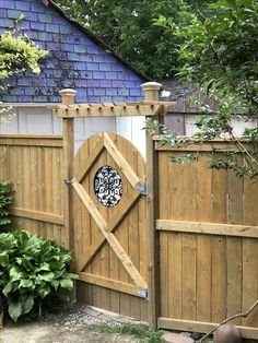 Most Noticeable Ways To Create A Backyard Getaway 072 - Home.- Most Noticeable Ways To Create A Backyard Getaway 072 – Home to Z Most Noticeable Ways To Create A Backyard Getaway 072 - Building A Wooden Gate, Wooden Garden Gate, Building A Fence, Wooden Gates, Backyard Gates, Garden Gates And Fencing, Garden Doors, Backyard Landscaping, Fence Gates