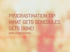 Learn how to conquer procrastination and score my eBook, free! http://markstruczewski.com/subscribe/
