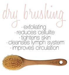 Learn the RIGHT sequence in dry brushing and reap all of the amazing benefits, like reducing cellulite!
