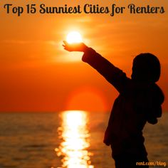 Why wait for summer when you can live in a sunny city all year round? Check out our list of the top 15 sunniest cities for renters!
