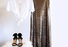 Fashion Today, Sequins, Lace, How To Wear, Tops, Dresses, Women, Gowns, Vestidos