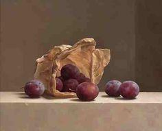 by Marius van Dokkum (artist) Realistic Oil Painting, Still Life Fruit, Magic Realism, Artist Brush, Country Paintings, Dutch Painters, Painting Still Life, Hyperrealism, Dutch Artists