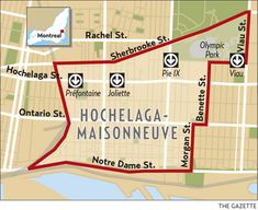 Urban Villages: Hochelaga-Maisonneuve: friendly, with small-town feel The Gazette, Of Montreal, Belle Villa, Canada, The Province, In The Heart, Ontario, Olympics, The Neighbourhood