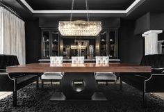 SJC Dramatic Remodel - contemporary - dining room - orange county - Orange Coast Interior Design