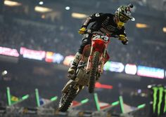 FIM World Championship Supercross: Phoenix. Monster Energy AMA Supercross, an FIM World Championship, is an off-road motorcycle racing competition, produced inside a stadium that seats no less than 35,000 fans, where dirt is brought in and sculpted.