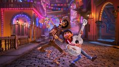 """Special """"Coco"""" Performance at the 90th Annual Academy Awards. A special and worthy performance worthy of it's own category. Disney/Pixar's Dia de Muertos-set Coco, for both Best Animated Feature and Best Original Song.  It gave audiences the opportunity to weep once again at """"Remember Me,"""" the heartfelt tribute to family members loved/lost. Actors/Actresses and singers performed the song; Coco's leads, actor Gael Garcia-Bernal, with Miguel and Natalia Lafourcade. Have some tissues on-hand!"""