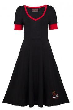 Voodoo Vixen Cherry Lucky   Jurken   Miss Vintage   Retro, vintage geïnspireerde dames kleding