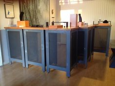 Bases with table tops #showbooth #jewelrybooth #jewelrydisplay