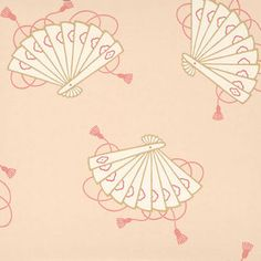 Little Greene Wallpapers; Oriental Wallappers Shojo  - Luxury By Nature
