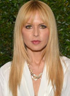 Hairstyles for Long Straight Hair - Blonde Fringe