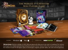 ChemCaper: The World's First Chemistry RPG by ACE EdVenture Studio Production LLC — Kickstarter