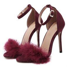 Oral stimulation over heels