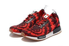ADIDAS NMD R2 PRIMEKNIT SHOES - Red   black 9a511fe19