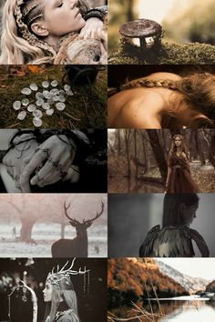 Druid, Earth Witch aesthetic