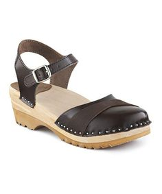 Look what I found on #zulily! Cola Penny Leather Sandal by Troentorp #zulilyfinds