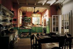 English country kitchen #kitchens