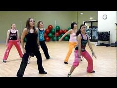 "Zumba with Kristine - ""Shots"" by LMFAO feat Lil Jon"