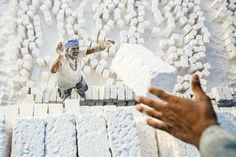 Quarries men Photo by Nader Saadallah — National Geographic Your Shot