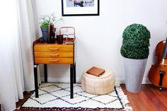 Mueble inspiración mediados de siglo * DIY
