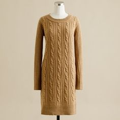 Sweater + Dress = Love